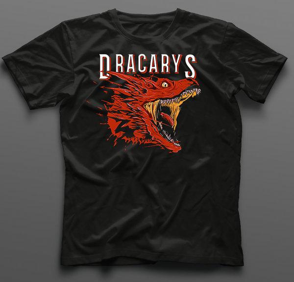 Тениска Game of Thrones Dracarys K-M-357