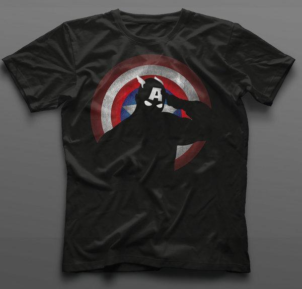 Тениска Captain America - K-M-358