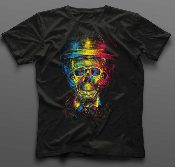 Тениска Crazy Skull