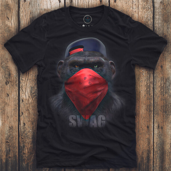 Тениска SWAG Monkey K-M-371