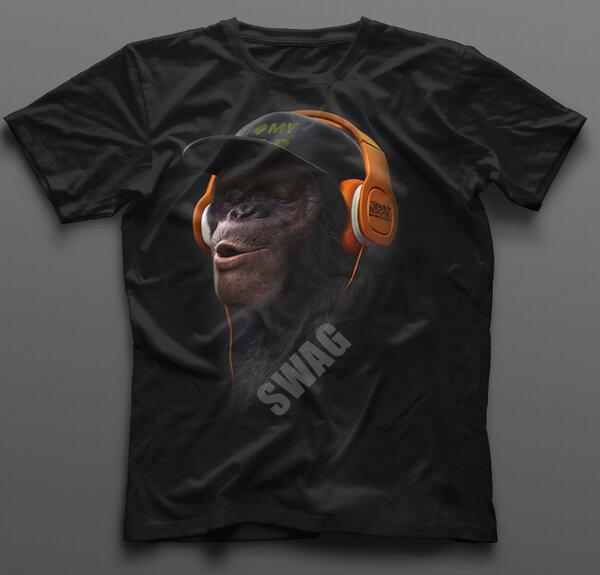 Тениска SWAG Monkey K-M-372