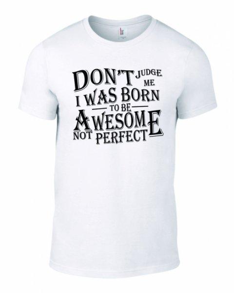 Тениска за рожден ден Awesome B-M-05