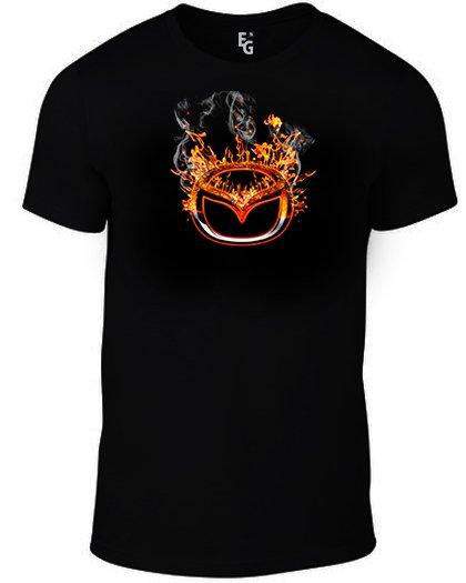 Тениска Mazda Fire K-M-300