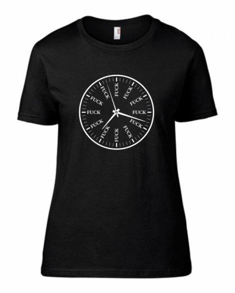 Дамска тениска Clock