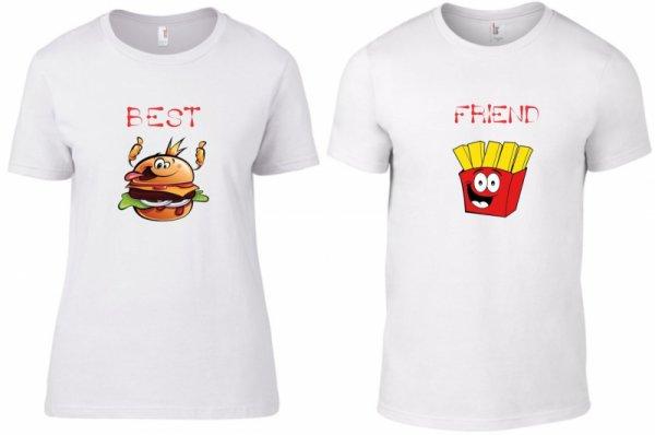Тениски за двойки Best Friends