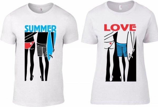 Тениски за двойки Summer Love