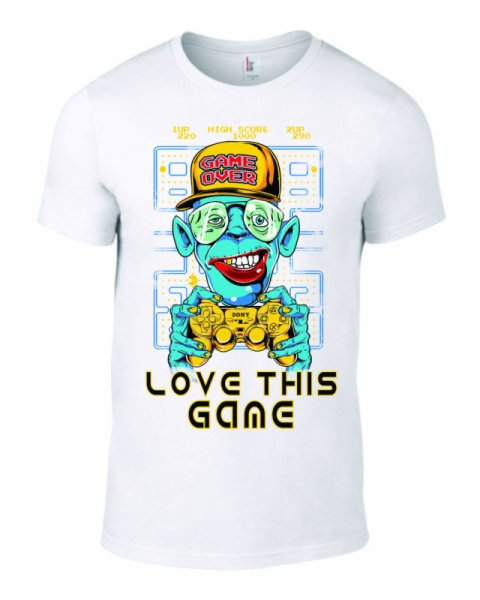 Тениска Love this Game