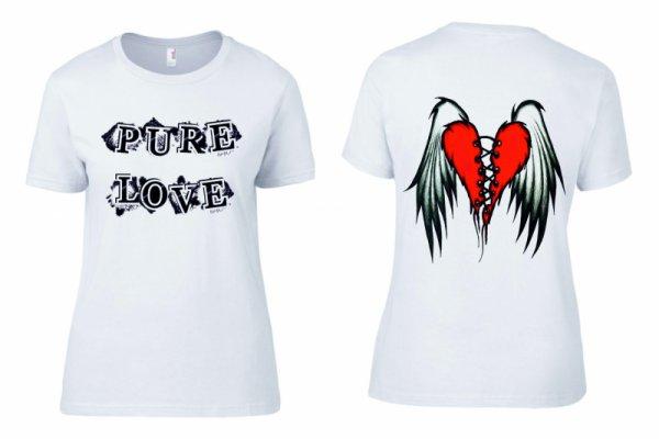 Тениска PURE LOVE