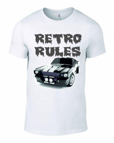 Тениска Retro Rules K-M-33