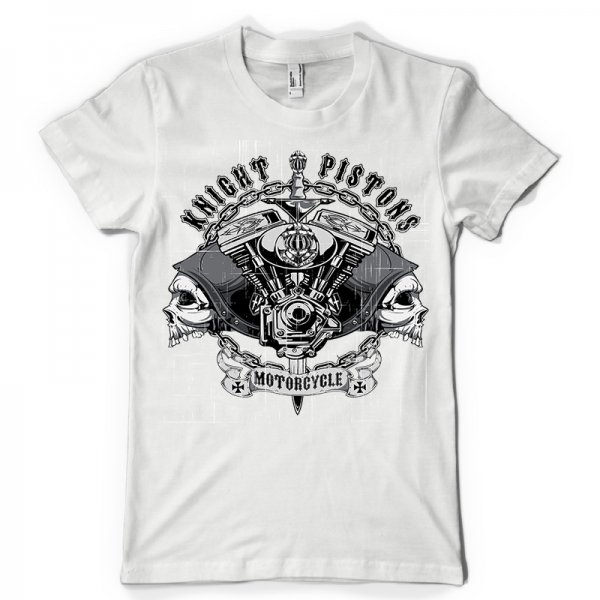 Тениска Knight pistons-M 223
