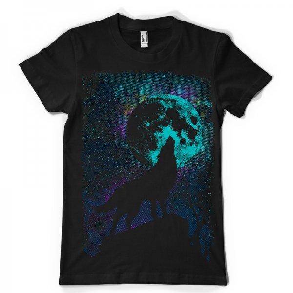 Тениска abstract moon K-M-213