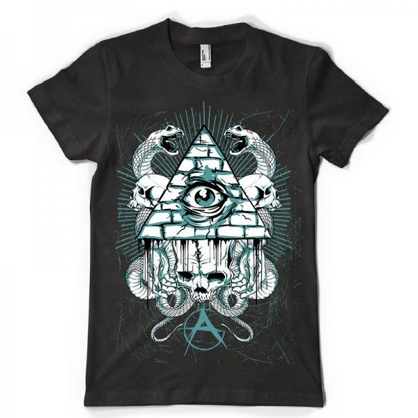 Тениска Anarchy eye K-M- 199