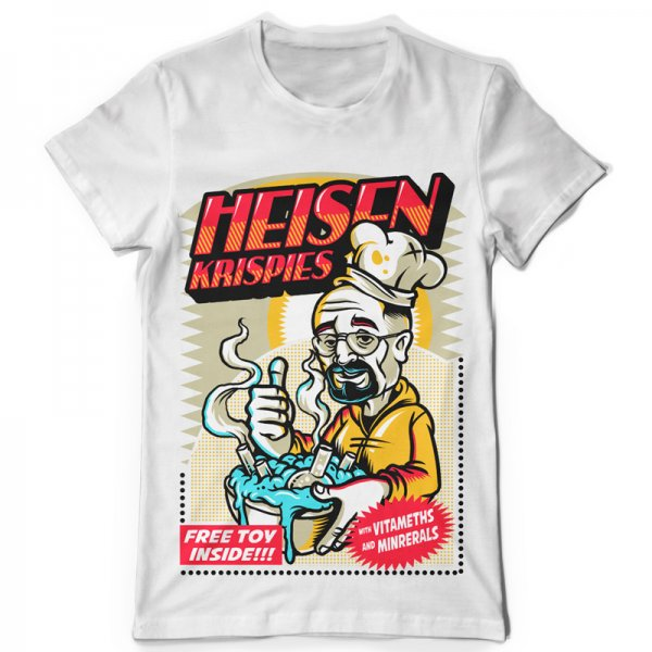 Тениска Heisenberg K-M-124