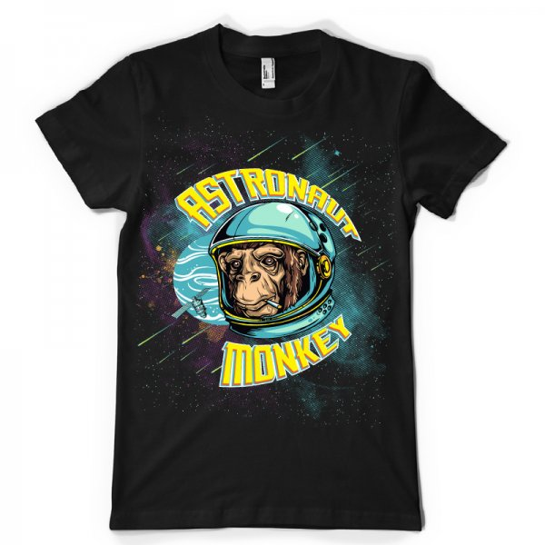 Тениска Astronaut monkey