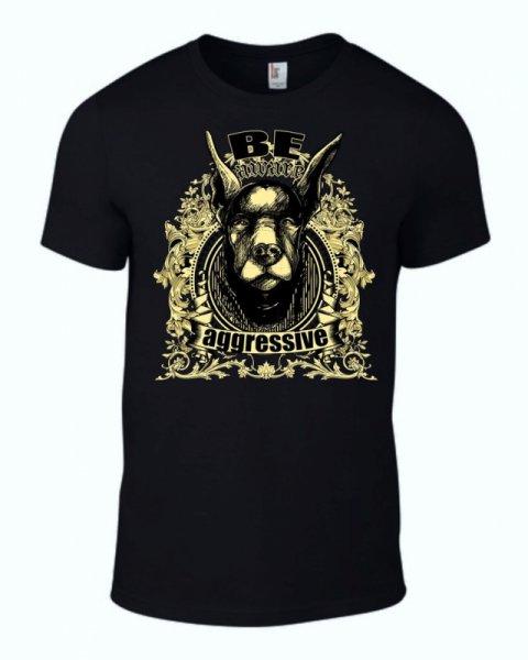 Тениска Be Agressive K-M-262