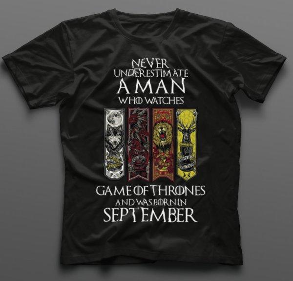 Тениска за рожден ден Game of Thrones B-M-01