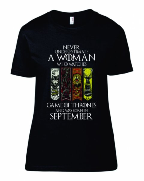Тениска за рожден ден Game Of Thrones B-W-02