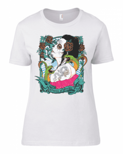 Тениска Queen of snake