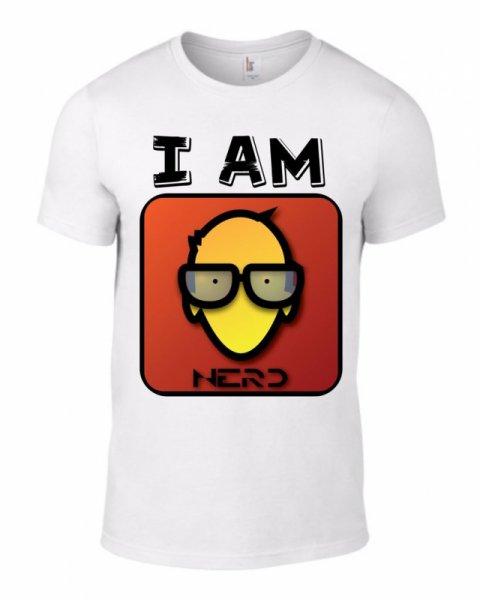 Тениска I am nerd-M 52