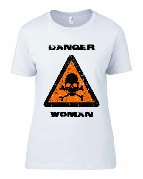 Тениска Danger Woman