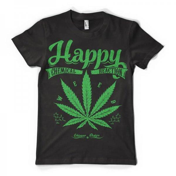 Тениска Happy chemical reaction K-M-202