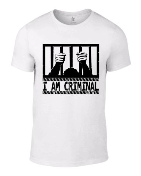 Тениска I am Criminal