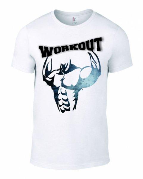 Тениска workout K-M-141