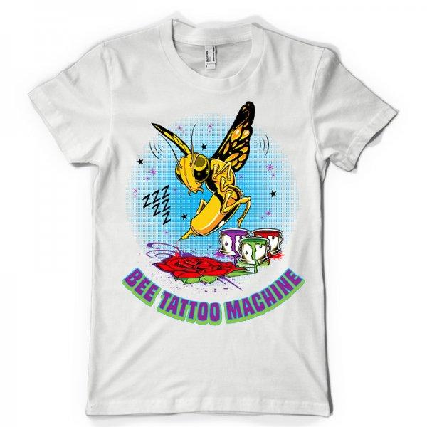 Тениска Bee Tattoo Machine