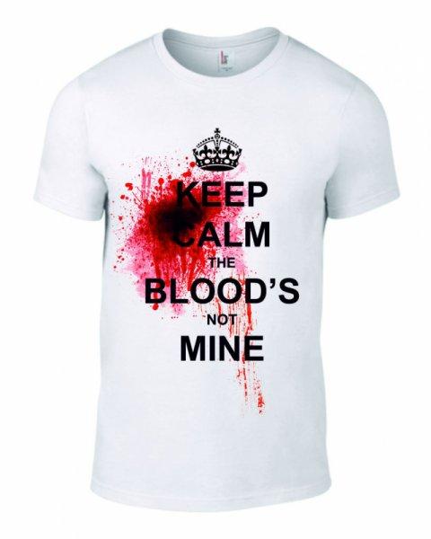 Тениска The blood is not mine