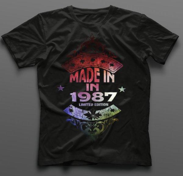 Тениска за рожден ден Made IN B-M-09