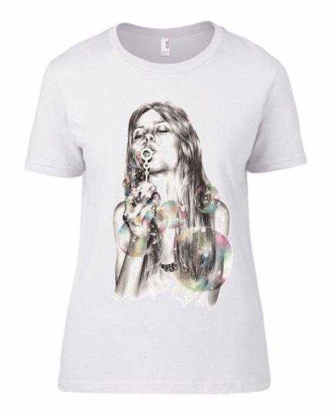 Тениска bubble