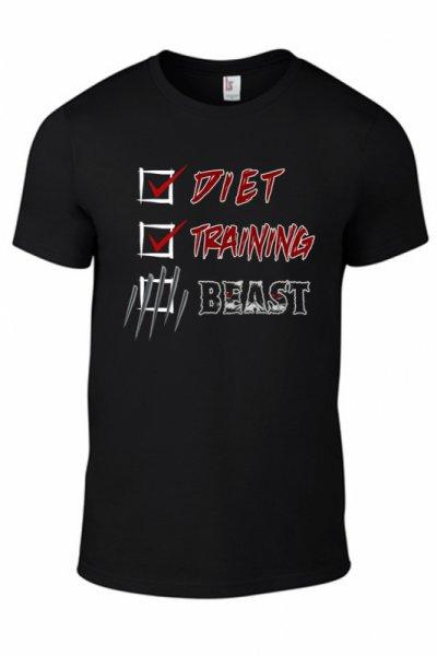Тениска Diet Training  Beast K-M-151