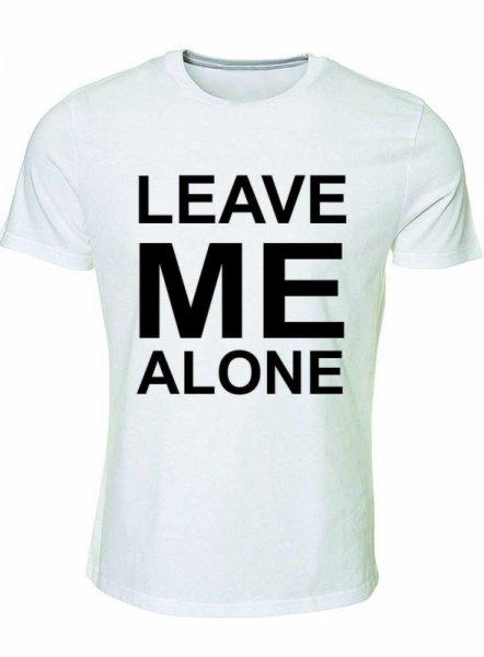 Тениска Leave me alone
