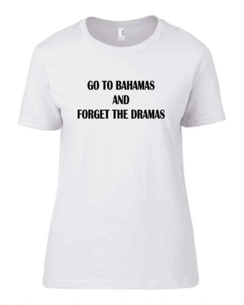 Тениска Go to Bahamas