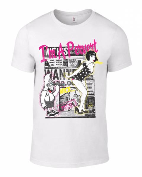 Тениска I am pervert