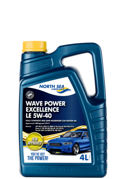 NSL WAVE POWER EXCELLENCE LE 5W-40 4л.