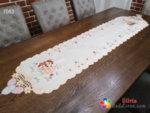 Великденска лента за маса с бродерия - 7053