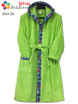 Детски халат Рали - зелен