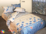 Спален комплект памук Цветана - син