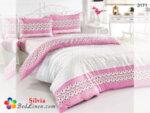 Спален комплект памук Сакар - розов