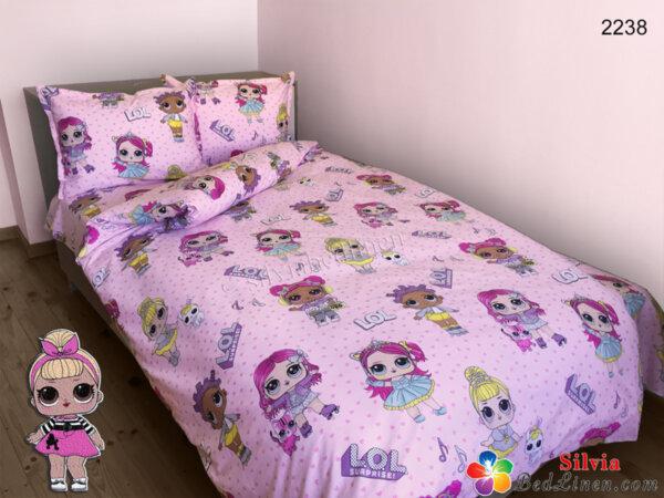 Детски спален комплект ранфорс Лол