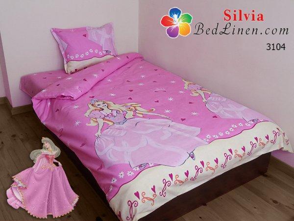 Детски спален комплект хасе Принцеса