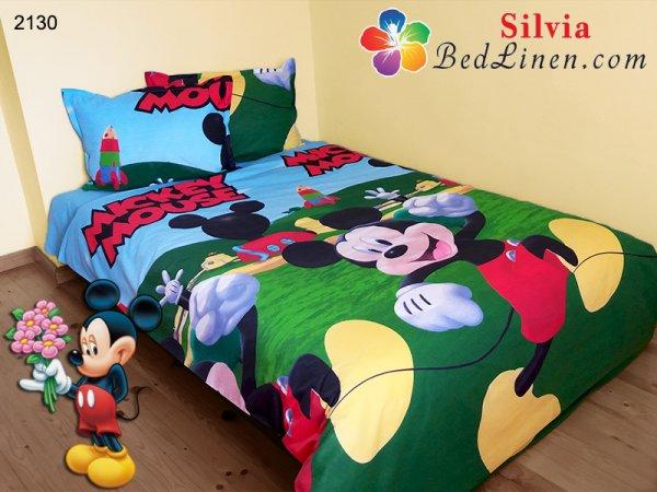 Детски спален комплект ранфорс Мики Маус