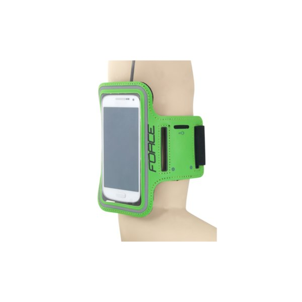 Спортна калъфка за смартфон Force Green