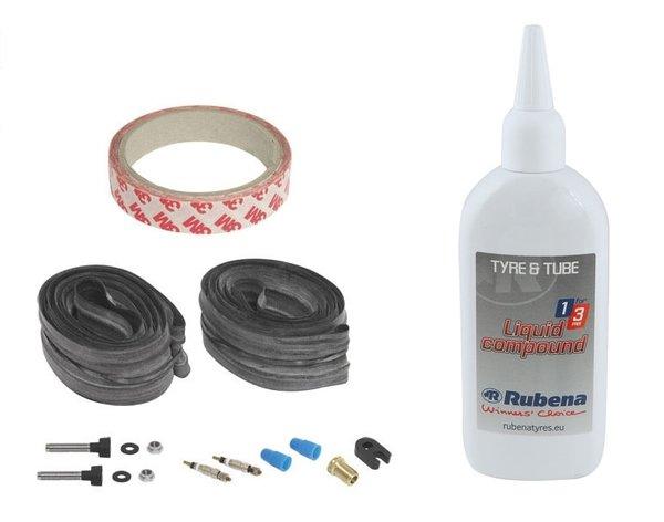 Комплект за безкамерни гуми Rubena Tubeless  MTB