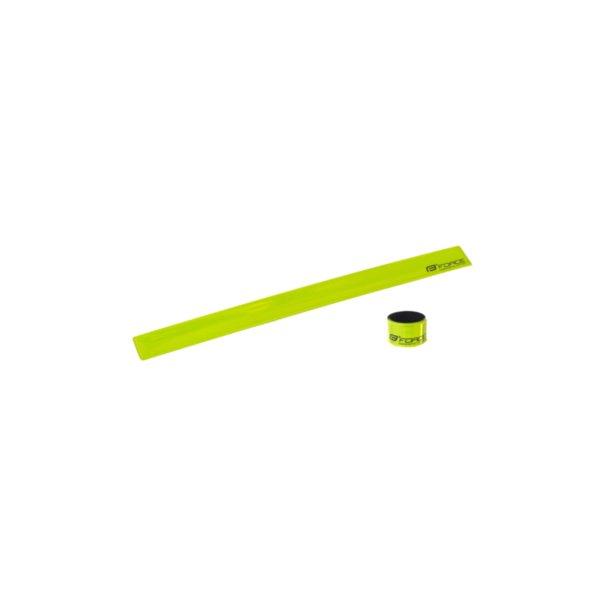Светлоотразителна лента Force 38см. зелена