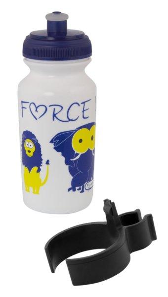 Бидон за деца Force ZOO 0.3л бял