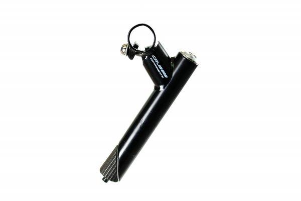 Колче за кормило 1-1/8'' Crussis Components, 60 мм, 25.4 мм, метално, черно