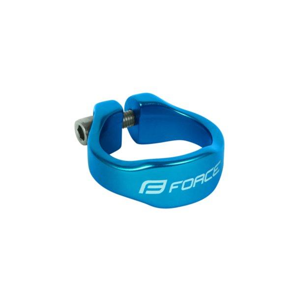 Скоба алум. за седалка Force 34.9 / blue