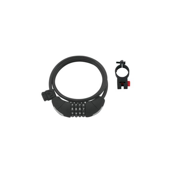 Катинар спирала Force Lux 120см/8мм черен